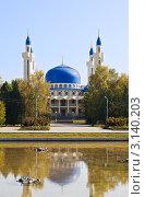 Купить «Мечеть в Майкопе», фото № 3140203, снято 7 октября 2011 г. (c) LenaLeonovich / Фотобанк Лори