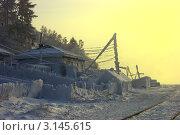 Купить «Зима в байкальской деревне», фото № 3145615, снято 4 января 2011 г. (c) Opra / Фотобанк Лори