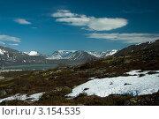 Купить «Северные горы весной. Кольский полуостров, Хибины.», фото № 3154535, снято 11 декабря 2018 г. (c) Morgenstjerne / Фотобанк Лори