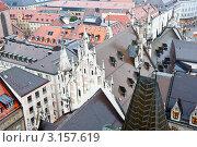 Купить «Старый город. Вид со смотровой площадки. Мюнхен. Бавария. Германия», фото № 3157619, снято 9 января 2012 г. (c) E. O. / Фотобанк Лори