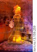 Купить «Ледяная комната в Тереме Снегурочки. Подсветка», фото № 3159259, снято 17 января 2012 г. (c) ElenArt / Фотобанк Лори