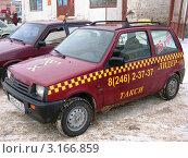 Купить «Такси за 25 рублей», фото № 3166859, снято 27 декабря 2006 г. (c) Елена Беклемищева / Фотобанк Лори