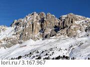 Купить «Доломитовые альпы», фото № 3167967, снято 3 января 2012 г. (c) Андрей / Фотобанк Лори