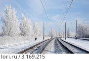 Купить «Дальний путь», фото № 3169215, снято 21 января 2011 г. (c) Короленко Елена / Фотобанк Лори