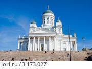 Купить «Кафедральный лютеранский собор. Хельсинки», эксклюзивное фото № 3173027, снято 5 августа 2011 г. (c) Александр Щепин / Фотобанк Лори
