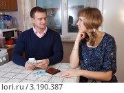Купить «Проблемы с деньгами в молодой семье», фото № 3190387, снято 15 января 2012 г. (c) Яков Филимонов / Фотобанк Лори