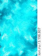 Сине-голубой волнистый фон. Стоковая иллюстрация, иллюстратор Людмила Козлова / Фотобанк Лори