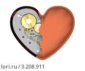 Купить «Механическое сердце», иллюстрация № 3208911 (c) Горбунов Владимир / Фотобанк Лори