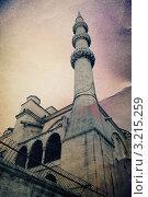 Купить «Стамбул. Старая открытка.», иллюстрация № 3215259 (c) Екатерина Шелыганова / Фотобанк Лори