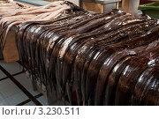Купить «Мадейра славится своей глубоководной рыбой эшпадой (peixe espada), или угольной рыбой-шпагой (Black Scabordfish)», фото № 3230511, снято 27 декабря 2011 г. (c) Виктория Катьянова / Фотобанк Лори
