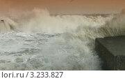 Волны на Черном море (2012 год). Стоковое видео, видеограф Владимир Никулин / Фотобанк Лори