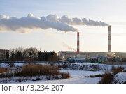 Купить «Тюмень в крещенские морозы», фото № 3234207, снято 19 января 2012 г. (c) Александр Тараканов / Фотобанк Лори