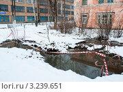 Купить «Гусь-Хрустальный. Оттепель», эксклюзивное фото № 3239651, снято 14 марта 2010 г. (c) Ирина Фирсова / Фотобанк Лори