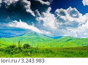 Купить «Горный пейзаж. Армения», фото № 3243983, снято 9 июня 2011 г. (c) Екатерина Овсянникова / Фотобанк Лори