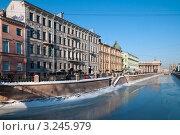 Купить «Канал Грибоедова. Санкт-Петербург», эксклюзивное фото № 3245979, снято 12 февраля 2012 г. (c) Александр Алексеев / Фотобанк Лори