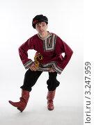 Купить «Русский танец в присядку», фото № 3247959, снято 23 ноября 2011 г. (c) Алексей Лабзин / Фотобанк Лори