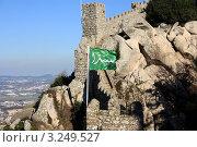 Замок мавров город Синтра Португалия (2012 год). Стоковое фото, фотограф киров николай / Фотобанк Лори