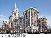 Купить «Элитное жилье в Москве», эксклюзивное фото № 3265719, снято 18 февраля 2012 г. (c) Наталья Волкова / Фотобанк Лори
