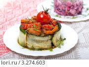 Купить «Террин из овощей», фото № 3274603, снято 6 апреля 2011 г. (c) ElenArt / Фотобанк Лори