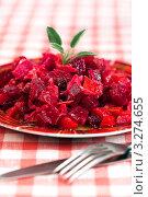 Купить «Русский салат винегрет», фото № 3274655, снято 5 июля 2011 г. (c) ElenArt / Фотобанк Лори