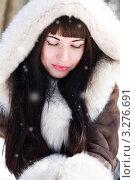 Портрет девушки. Стоковое фото, фотограф Костырина Елена / Фотобанк Лори