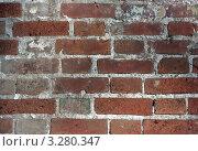 Кирпич. Стоковое фото, фотограф Ксения Минькова / Фотобанк Лори