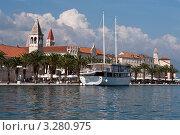 Купить «Набережная старого города, Трогир, Хорватия, Адриатика», фото № 3280975, снято 14 июня 2010 г. (c) Alexey Kotikov / Фотобанк Лори