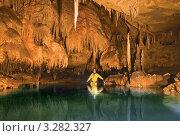 Пещера Красная (Кизил-Коба) Стоковое фото, фотограф Кирилл Багрий / Фотобанк Лори