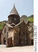 Церковь Катогике в монастыре Гегард, Армения (2009 год). Редакционное фото, фотограф Андрей Щавелев / Фотобанк Лори