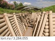 Купить «Окопы в музее военной техники на Поклонной горе», эксклюзивное фото № 3284055, снято 19 июня 2010 г. (c) Алёшина Оксана / Фотобанк Лори