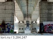 Купить «Тверь. Восточный мост», фото № 3284247, снято 19 февраля 2012 г. (c) Ольга Денисова / Фотобанк Лори