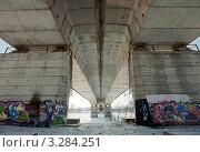 Купить «Тверь. Восточный мост», фото № 3284251, снято 19 февраля 2012 г. (c) Ольга Денисова / Фотобанк Лори