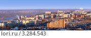 Панорама города Уфы (2012 год). Стоковое фото, фотограф Рамиль Юсупов / Фотобанк Лори