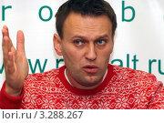 Купить «Адвокат, юрист, политик Алексей Навальный», эксклюзивное фото № 3288267, снято 25 февраля 2012 г. (c) Александр Тарасенков / Фотобанк Лори