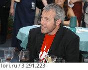 Купить «Андрей Макаревич», фото № 3291223, снято 5 августа 2004 г. (c) Малышев Андрей / Фотобанк Лори