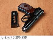 Русский  пистолет ПМ (Макарова) 9мм (2012 год). Редакционное фото, фотограф katalinks / Фотобанк Лори