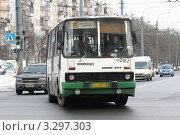 Купить «Санкт-Петербург. Пассажирский автобус Икарус 280 ГУП Пассажиравтотранс.», фото № 3297303, снято 28 февраля 2012 г. (c) Александр Тарасенков / Фотобанк Лори