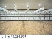 Купить «Большая пустая раздевалка», фото № 3299967, снято 19 декабря 2010 г. (c) Losevsky Pavel / Фотобанк Лори