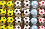 Классические футбольные мячи в магазине, фото № 3300251, снято 26 сентября 2010 г. (c) Losevsky Pavel / Фотобанк Лори