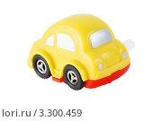 Купить «Желтая заводная игрушечная машинка», фото № 3300459, снято 28 сентября 2010 г. (c) Losevsky Pavel / Фотобанк Лори