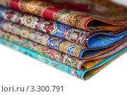 Купить «Пять узорчатых ковров», фото № 3300791, снято 21 января 2011 г. (c) Losevsky Pavel / Фотобанк Лори