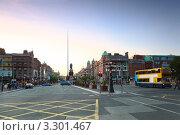 Купить «Шпиль на площади Дублина, Ирландия», фото № 3301467, снято 11 июня 2010 г. (c) Losevsky Pavel / Фотобанк Лори