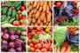Коллаж со свежими овощами, фото № 3301531, снято 22 июля 2017 г. (c) Losevsky Pavel / Фотобанк Лори