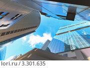 Купить «Небоскребы в деловом центре Сингапура», фото № 3301635, снято 4 апреля 2020 г. (c) Руслан Керимов / Фотобанк Лори