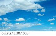 Купить «Небесный пейзаж», видеоролик № 3307003, снято 28 июля 2011 г. (c) Николай Михальченко / Фотобанк Лори