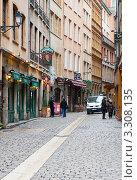 Купить «Улицы Лиона. Франция», фото № 3308135, снято 24 февраля 2012 г. (c) Екатерина Овсянникова / Фотобанк Лори