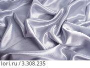 Купить «Складки на шелковой ткани», фото № 3308235, снято 7 февраля 2012 г. (c) Типляшина Евгения / Фотобанк Лори