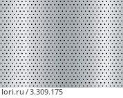 Металлический серебряный фон с мелкими отверстиями. Стоковая иллюстрация, иллюстратор Michael Travers / Фотобанк Лори