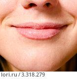 Женская улыбка. Стоковое фото, фотограф Сергей Петерман / Фотобанк Лори