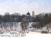 Купить «Дворцовый парк Румянцевых-Паскевичей», фото № 3327807, снято 5 марта 2012 г. (c) Parmenov Pavel / Фотобанк Лори